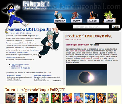 LBM Dragon Ball Z / GT